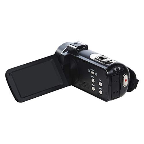 IPOTCH Videocamera 1080P Videocamera Digitale TFT LCD 24MP Zoom 16x DV AV