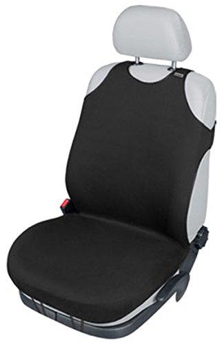 ZentimeX Z739670 Sitzbezug Einzelsitz T-Shirt-Design Baumwolle schwarz