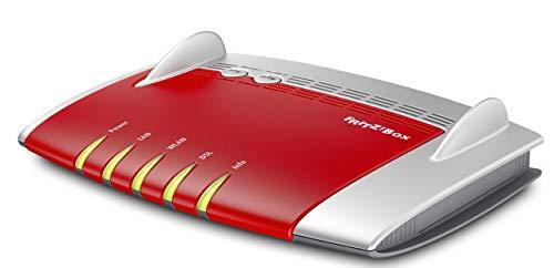AVM FRITZ!Box 3490 (VDSL-/ADSL2+, Dual-WLAN AC + N mit\n1.300 MBit/s (5 GHz) + 450 MBit/s (2,4 GHz), 4x Gigabit-LAN, Mediaserver,\ngeeignet für Deutschland