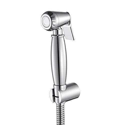 Jwkcm Handheld Bidet Toilet Sprayer, Hand Messing Bidet Toiletten met 59-Inch Extra Lange Slang en Beugel Houder-voor Persoonlijke Hygiëne En Bedpan Wc Spray