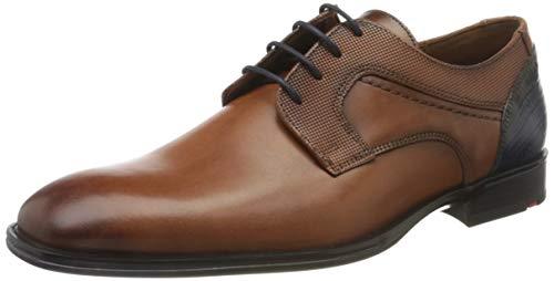 LLOYD Herren Gilbert Uniform-Schuh, Cioccolato/Ocean, 43 EU