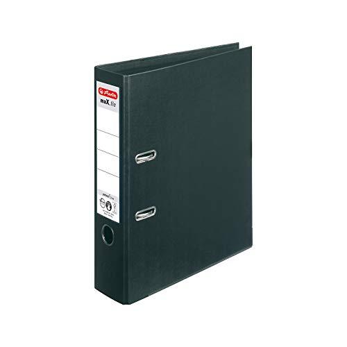 Herlitz 10834315 Ordner maX.file protect+ A4 (8 cm) schwarz