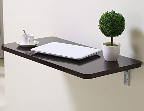 LXDZXY Escritorio de la computadora montado en la pared del hogar - Estudiantes plegables Escritorio de la computadora Montaje en la pared Cocina de madera maciza Color de mesa Tamaño opciona