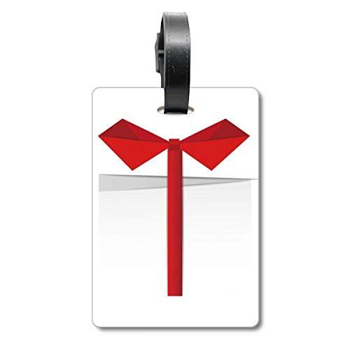 Etiqueta de identificación para Maleta con Texto en inglés Origami Cruise, Color Blanco
