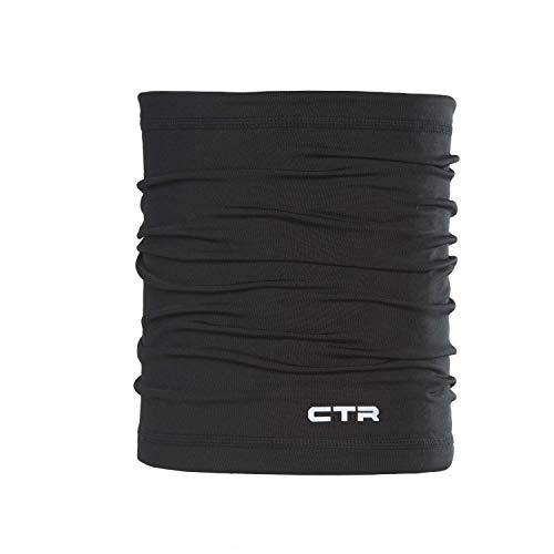 Chaos Mistral Skube Premium Écharpe Multifonction en Polaire pour Adulte et Enfant avec élastique Noir Taille Unique Noir