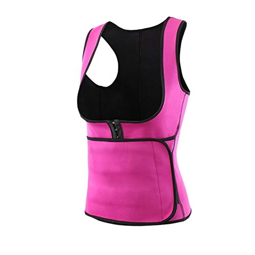 WPOS Women's Vests, Body Shapers, Body Shaping Machines, Fitness Sweat Belts, Waist Circumference, Coach Girth, Corsets, Slimming Belts,Pink,XXL