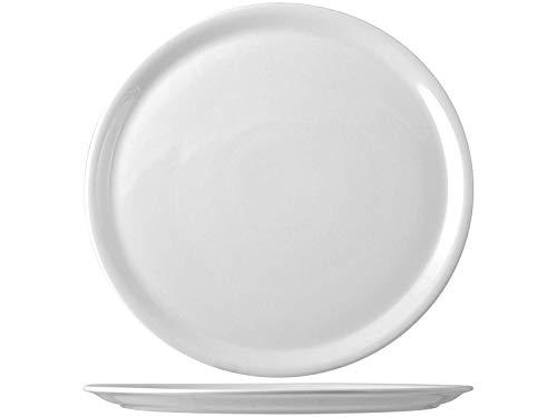 Saturnia, Piatto pizza, Bianco, 35cm