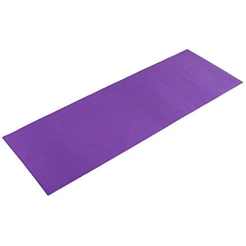 Sunny Health & Fitness Non-Slip Yoga Mat - Size 68 in x 24 in (Purple) (031-P) image