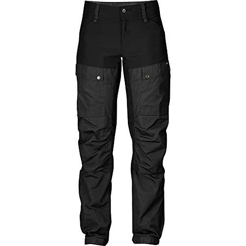 FJALLRAVEN Keb Trousers W Regular Damenhose 38 Schwarz (550)