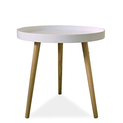 Coffee Table Simple Modern Mini Round Table Side Sofa Side Cabinet Corner Bedside Table Simple Wind