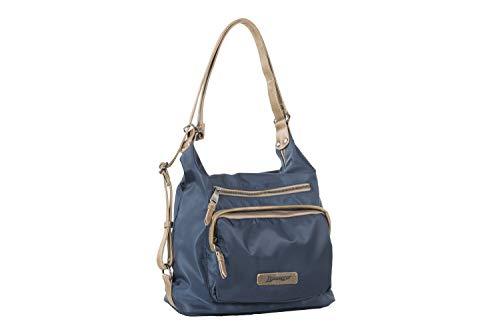 Liberto bolso-mochila azul (31x14x31 cm)