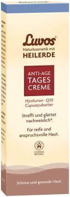 Luvos Heilerde Anti-Aging Serum Q10 Tagespflege Intensivcreme Vegane Kosmetik 1 X 50 Ml