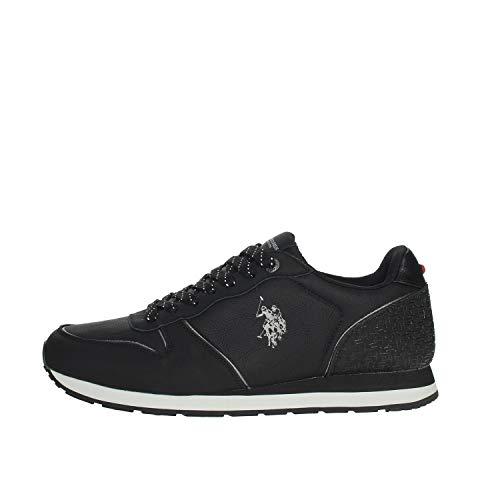 U.S. POLO ASSN. SOREN1 Club, Sneaker Uomo, (Nero (Blk 003), 42 EU