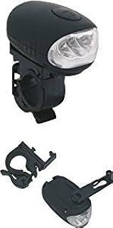 Luz delantera bicicleta con dinamo. 3 led, 2 funciones.: Amazon.es ...