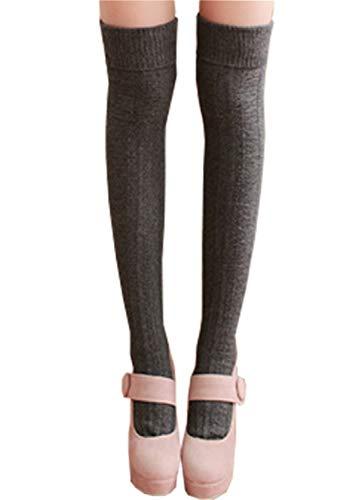 Hishiny skarpety skarpety zakolanówki damskie podkolanówki dziewczęce retro dziewiarskie ogrzewacze skarpety wełniane tkane skarpety zimowe skarpety