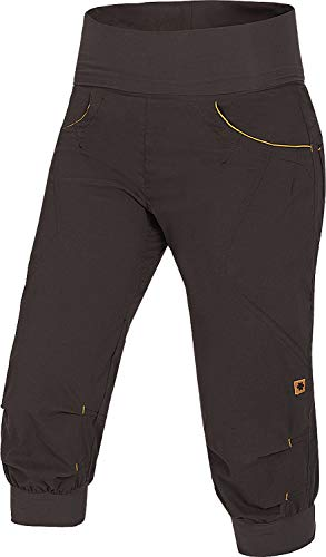 Ocun Noya Shorts Damen Brown/Yellow Größe L 2020 Hose kurz
