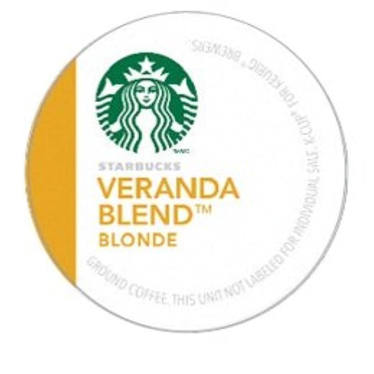 STARBUCKS VERANDA COFFEE K CUP 24 COUNT