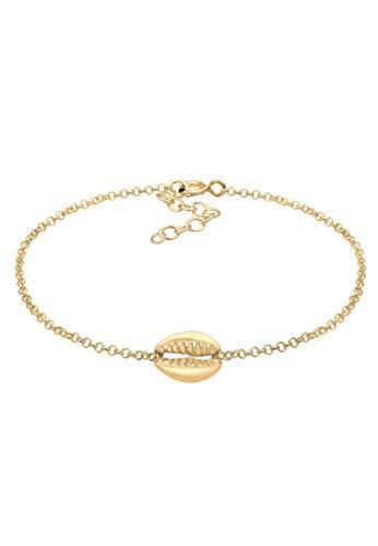 Elli Armband Muschel Anhänger Meer Strand 925 Sterling Silber