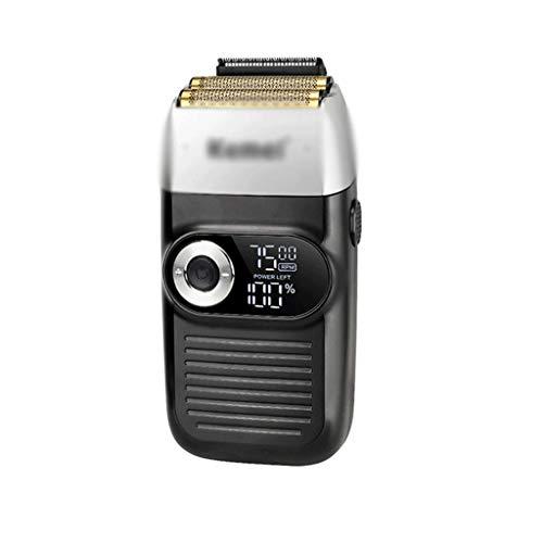 JJZXD Cubridor de Cabello eléctrico Profesional Recargable recortador de Cabello LCD Pantalla LCD Carga DE Pantalla DE 2 Horas MÁQUINA DE Corte Caliente ARTÍFACTO Bald