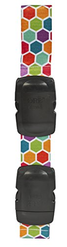 ORB Travel-LB451-Honeycomb-Multi-Colour-'Lug-A-Bag' Luggage Strap-Attach a Smaller Bag to Your Suitcase