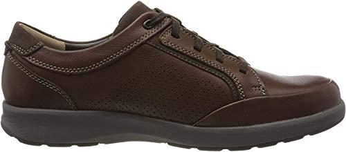 Clarks Un Trail Form, Derbys Derby, Braun (Mahogany Leather Mahogany Leather), 42.5 EU