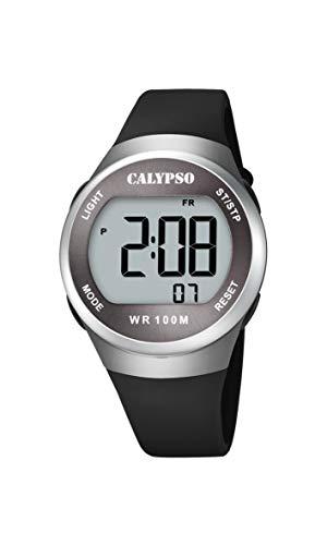 Calypso Quarz Uhr mit Kunststoff Armband K5786/4