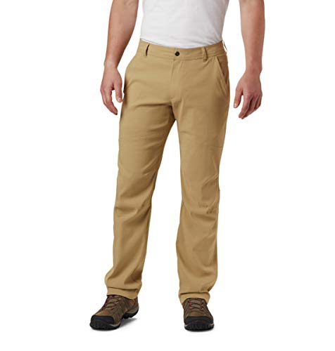 Columbia Mens Royce Peak II Hiking Pants, Water repellent, Stain Resistant, 38x36, Crouton