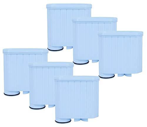 AquaHouse AH-CSA Filterkartuschen, kompatibel mit Saeco Philips AquaClean Wasserfilter-Kaffeemaschinen, 6 Stück