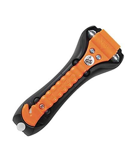 Nothammer original LifeHammer CLASSIC GLOW-O Inkl. Halter, Gurtschneider von MBS-FIRE®