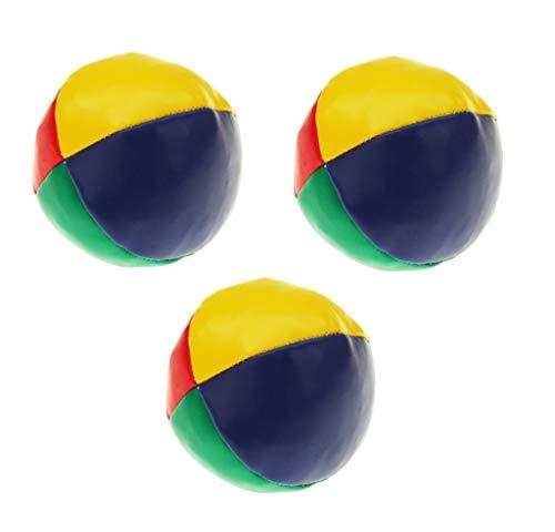 Sonnenscheinschuhe® 3 teiliges Jonglierball Set Kickball Ball Jonglierbälle Jonglieren Lernen Zirkus