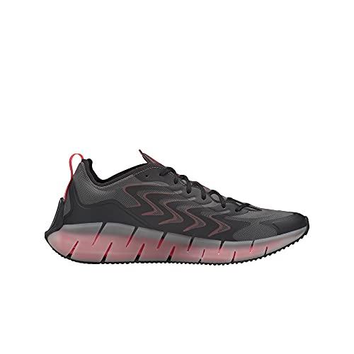 Reebok Zig Kinetica 21 Calzado Deportivo Informal para Hombre Color Pure Gray/core Gloomy/Cherry Talla 41 thumbnail
