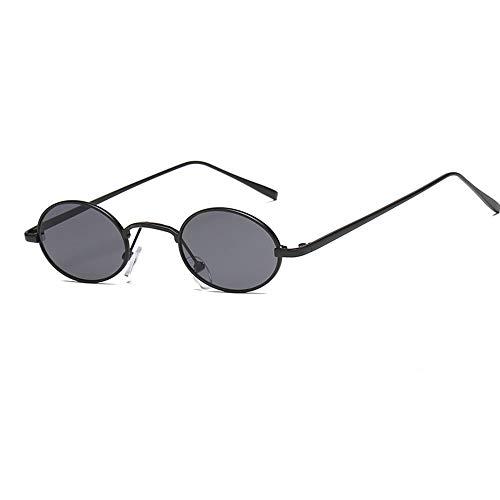 LiangDa Gafas De Sol para Mujer Marco Redondo Pequeño Gafas de Sol...