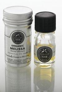 Ätherisches Bio- Zitronenmelissenöl (Melissa officinalis) (2.5ml (in a 5ml bottle)) by NHR Organic Oils