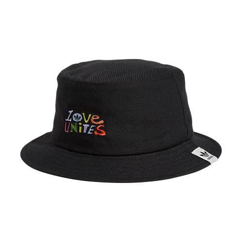 adidas Originals Love Unites Pride Bucket Hat, Black, One Size