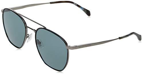 Hugo Boss Boss 1090/S, Gafas de sol Hombre, rutenio opaco, 57