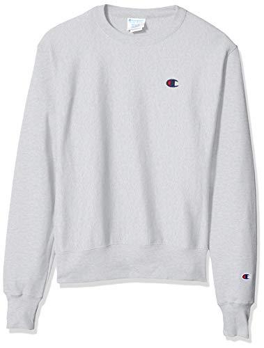 Champion LIFE mens Reverse Weave Sweatshirt, Gfs Silver Grey, Small US