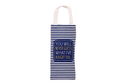 You'll Do 'You Will Never Guess' Wine Bottle Bag | from CGB...