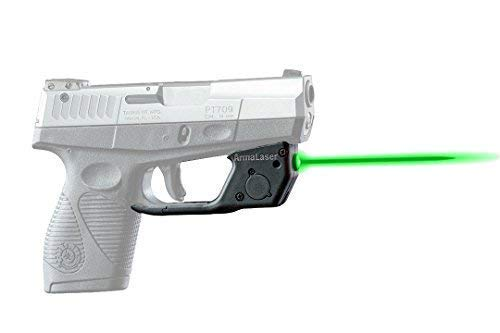 ArmaLaser Designed to fit Taurus 709 740 Slim TR18G Green Laser Sight with Grip Activation