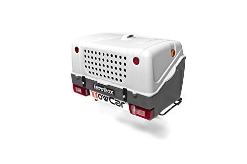 Towbox V1 Blanco. Portaperros TowBox Dog