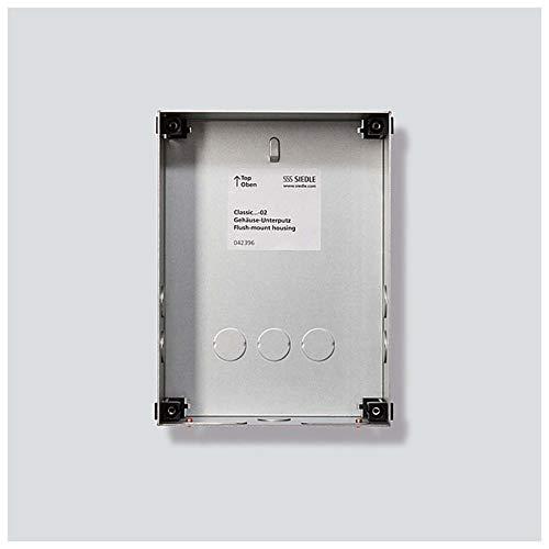 Siedle&Söhne Unterputzgehäuse Classic GU CL 01-0 Stahlblech verzinkt Systemneutral Montageelement für Türstation 4056138007844