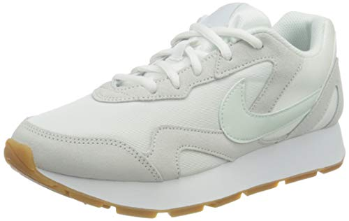 Nike Damen Delfine Leichtathletikschuhe, Mehrfarbig (White/Ghost Aqua/Gum Light Brown 000), 41 EU