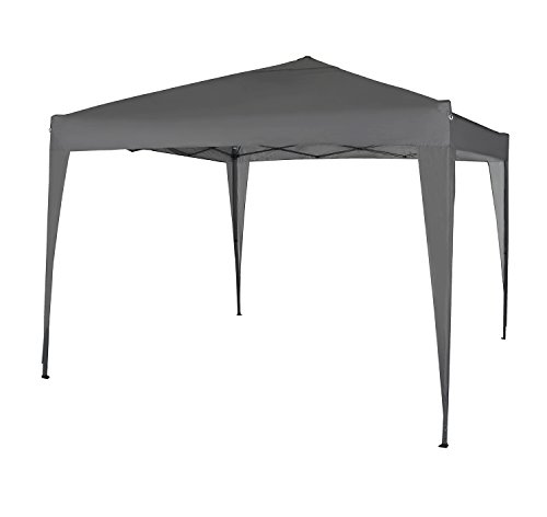 MCC 3x3m Pop-up Gazebo Waterproof Outdoor Garden Marquee Canopy NS (Grey)