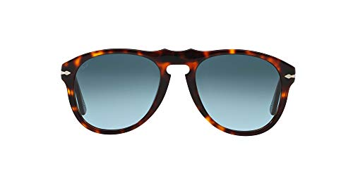 Persol Vintage Celebration Gafas de sol, Marrón (Havana/Blue), 54 Unisex-Adulto