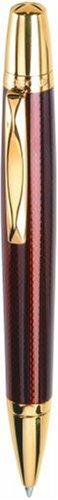 Waterford Kilbarry WF 452 GGA Ball Pen Capless Roller Ball Guilloche Amber Lacquer