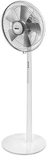 Unold 86820 White Standventilator Silverline, 50 W, silber/weiß