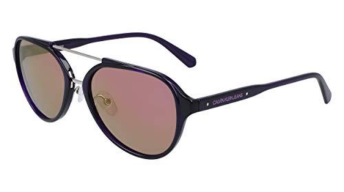CALVIN KLEIN JEANS EYEWEAR CKJ20502S gafas de sol, púrpura, 5718 Unisex Adulto