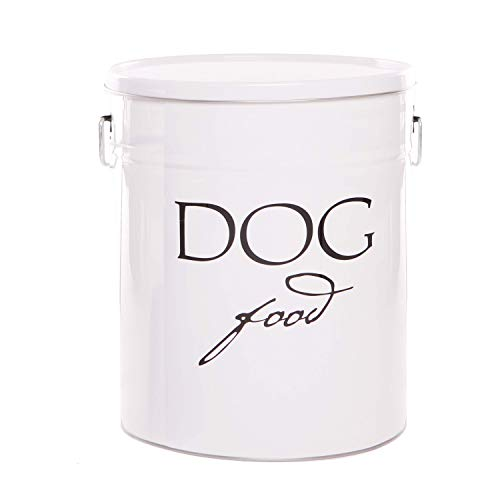 dog food containers Harry Barker Dog Food Storage - White - 22 lb