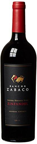 Zinfandel Sonoma County Rancho Zabaco Heritage Vines 2016 Trocken (1 x 0.75 l)