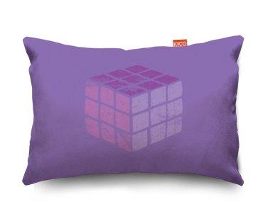 Rubik's Cube Sofa Cushion Cojín para Sofá - (28x23cm) Small
