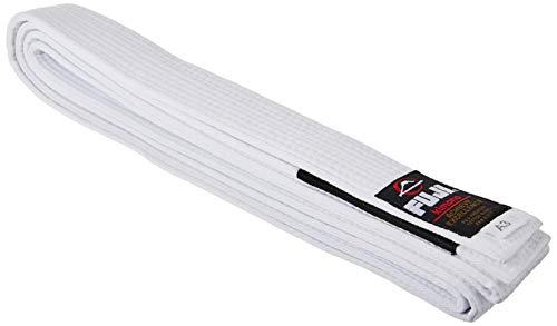Fuji BJJ Gürtel, Jungen, belt BJJ White A3, weiß, Einheitsgröße